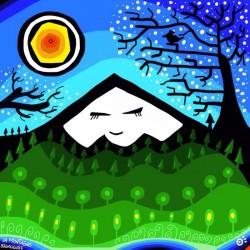 La montagne Silencieuse